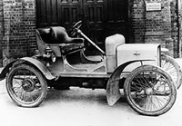 A single cylinder Rover 8hp